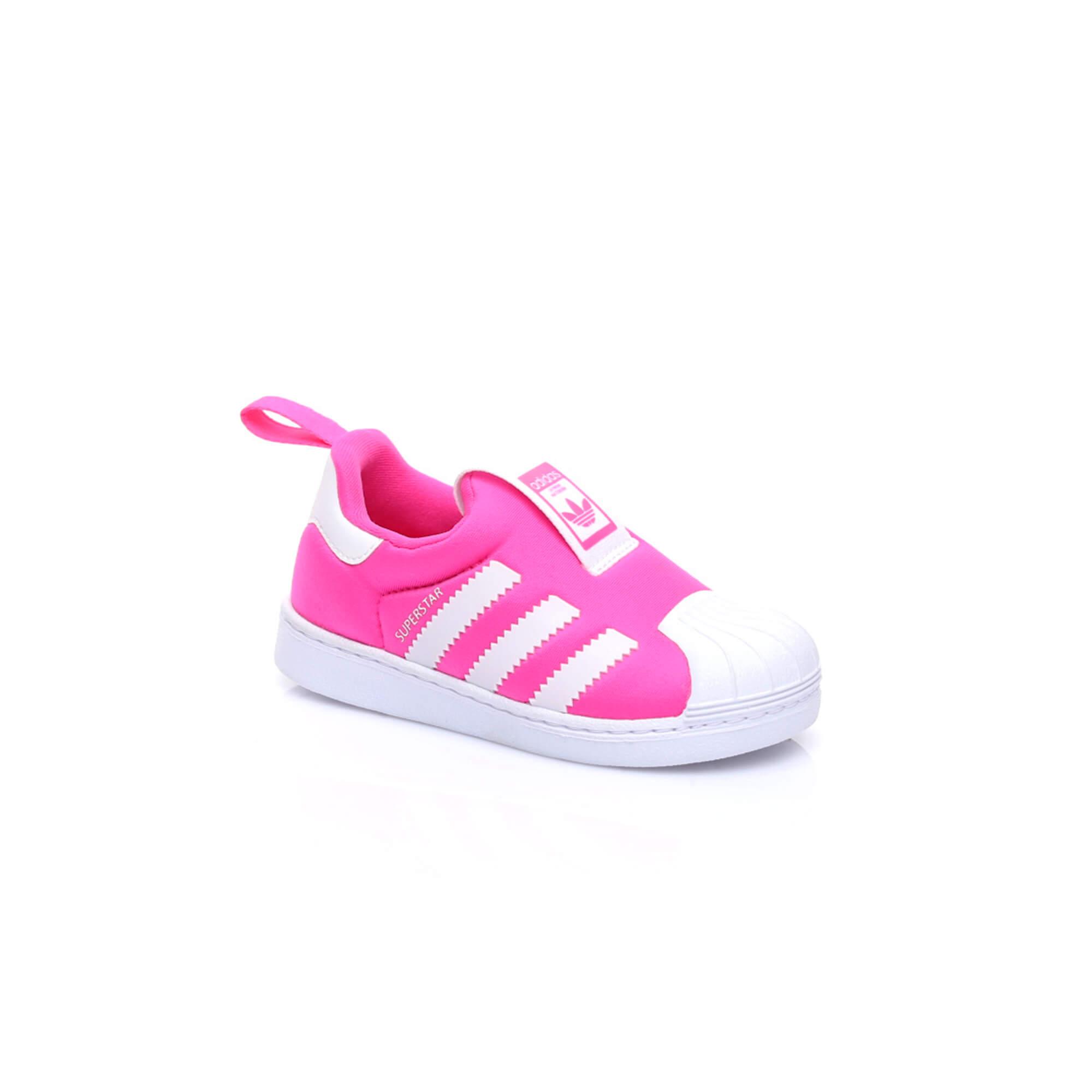 adidas Superstar Çocuk Pembe Sneaker