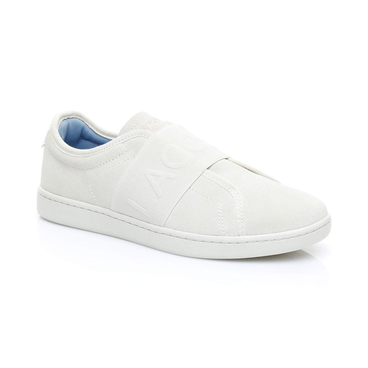 Lacoste Carnaby Evo Slip 318 2 Kadın Bej Ayakkabı