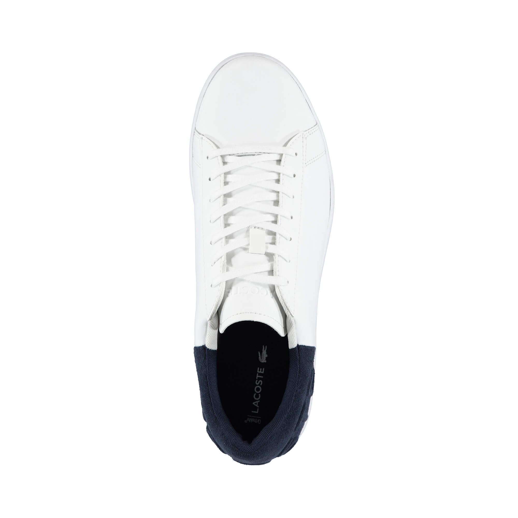 Lacoste Erkek Carnaby Evo 318 6 Beyaz/Lacivert Sneaker