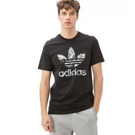 adidas Trefoil Erkek Siyah Tshirt