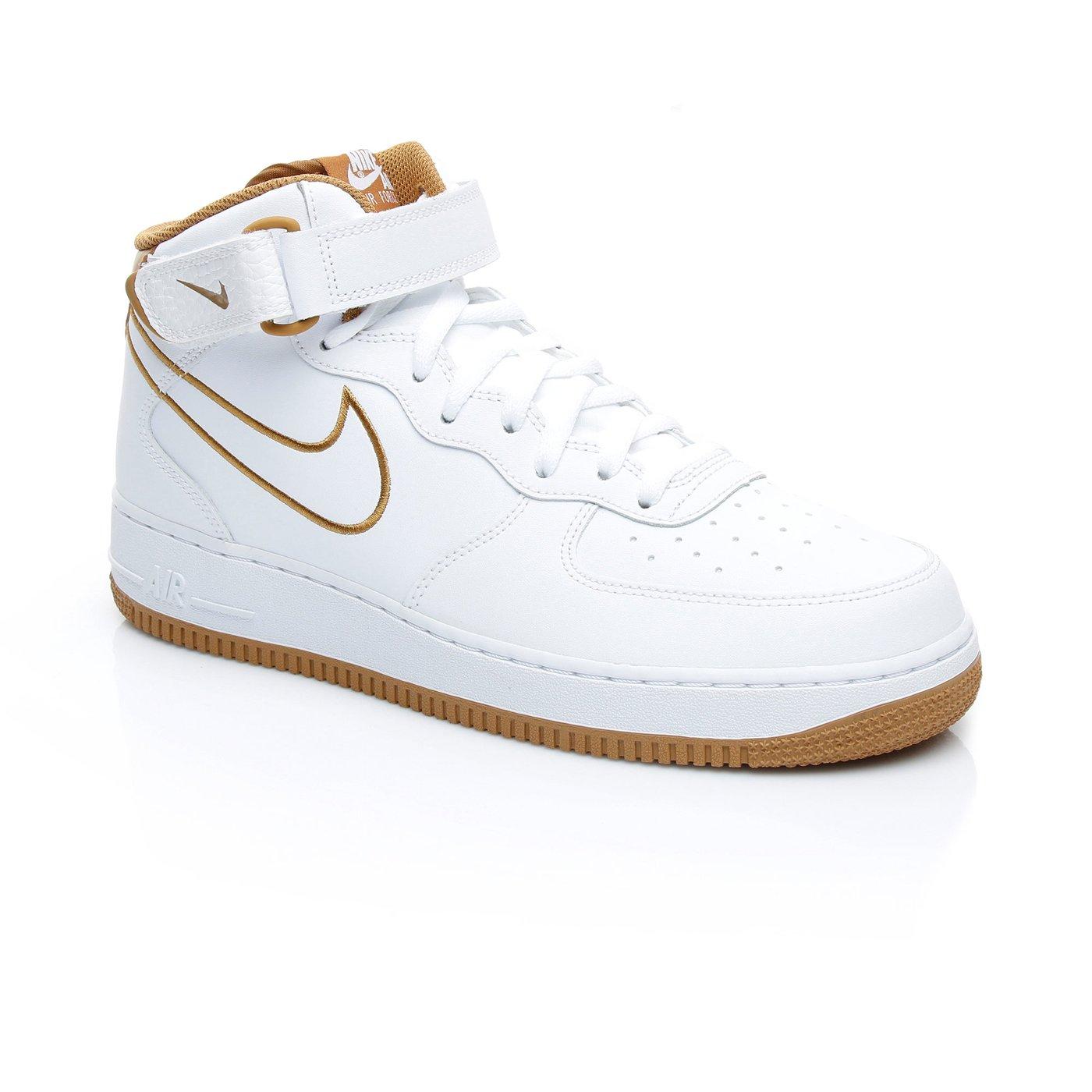 Nike Air Force 1 Mid`07 Erkek Beyaz Sneaker