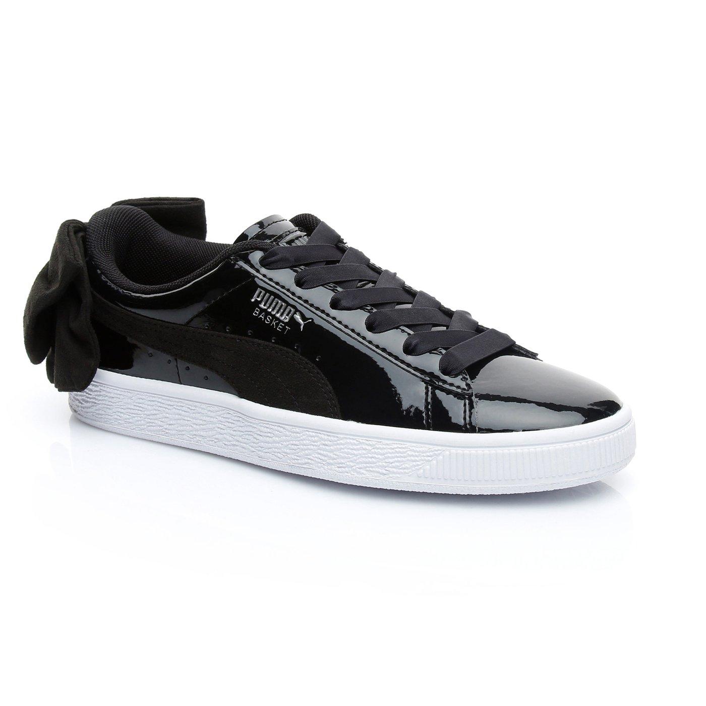 Puma Basket Bow Kadın Siyah Sneaker
