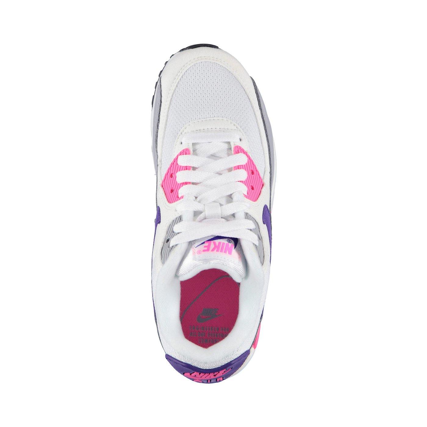 Nıke Aır Max 90 Leather Kadın Beyaz Sneaker