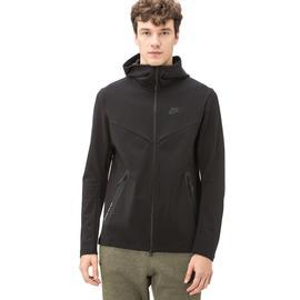 Nike Erkek Tech Full-Zip Siyah Sweatshirt