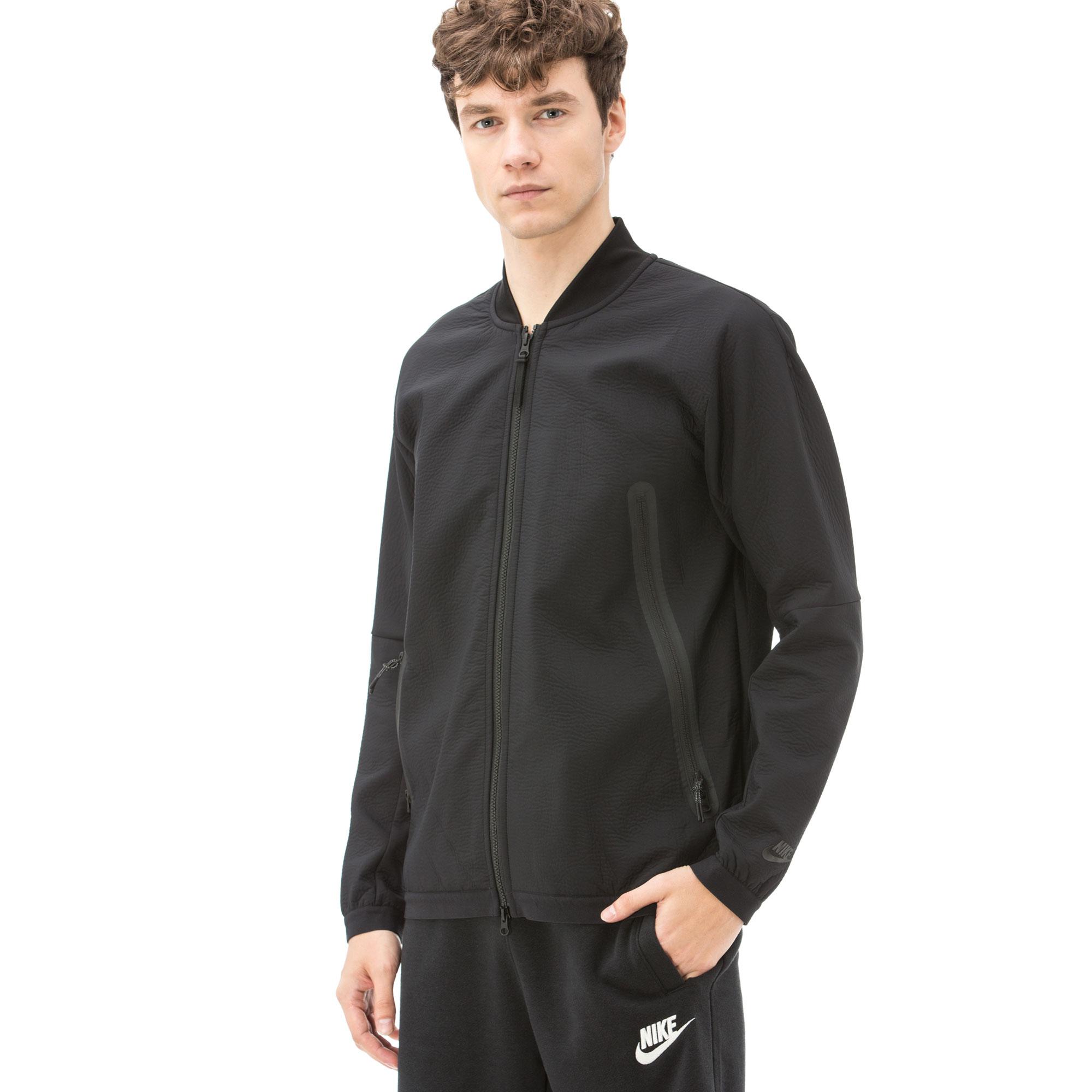 Nike Sportswear Tech Pack Erkek Siyah Eşofman Üstü
