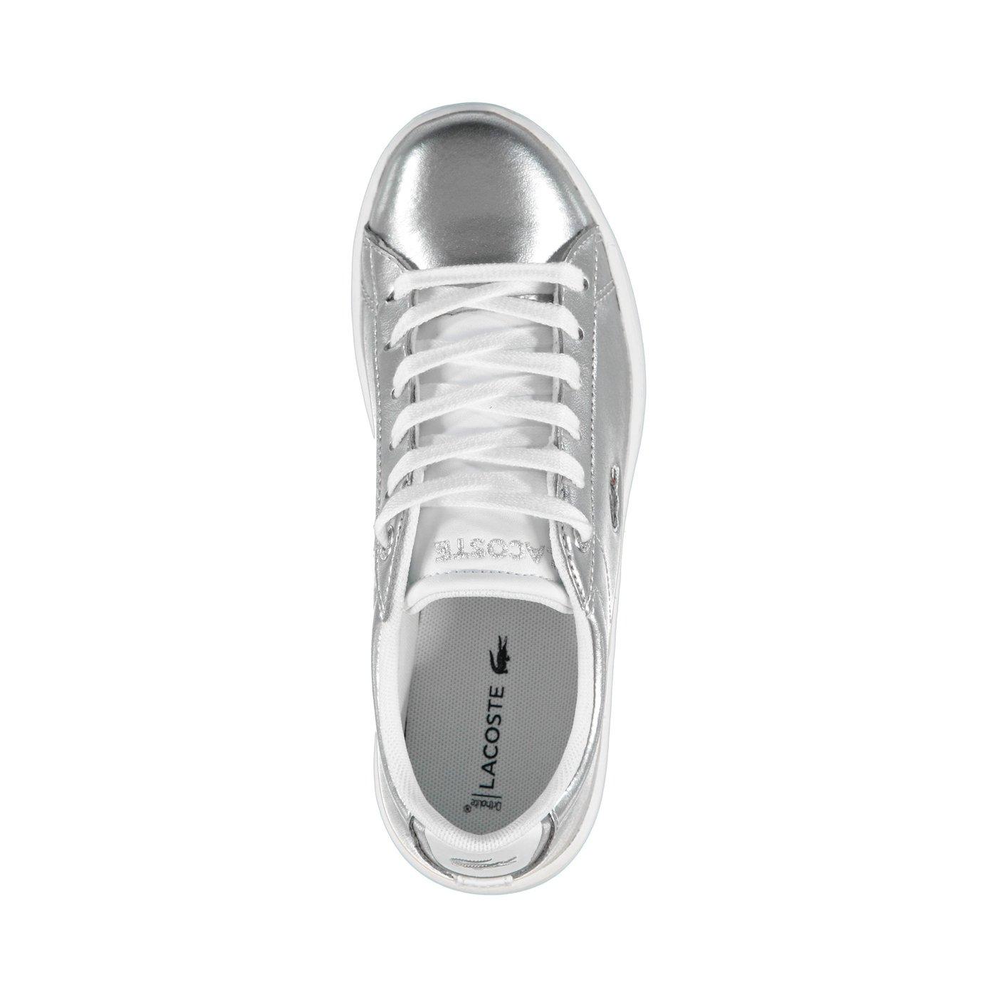 Lacoste Carnaby Evo 318 2 Gümüş Çocuk Sneaker