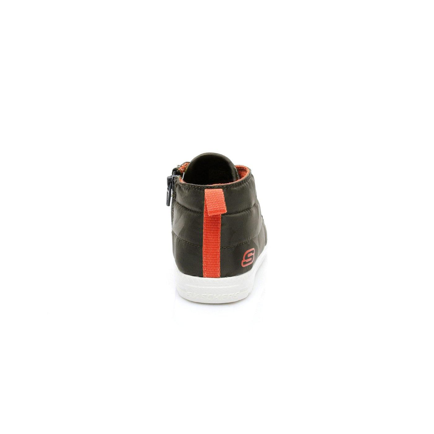 Skechers Lil Lad-Camo Clique Erkek Çocuk Haki Ayakkabı