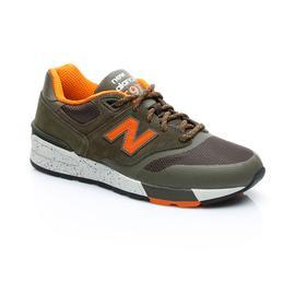 New Balance 597 Erkek Haki Sneaker