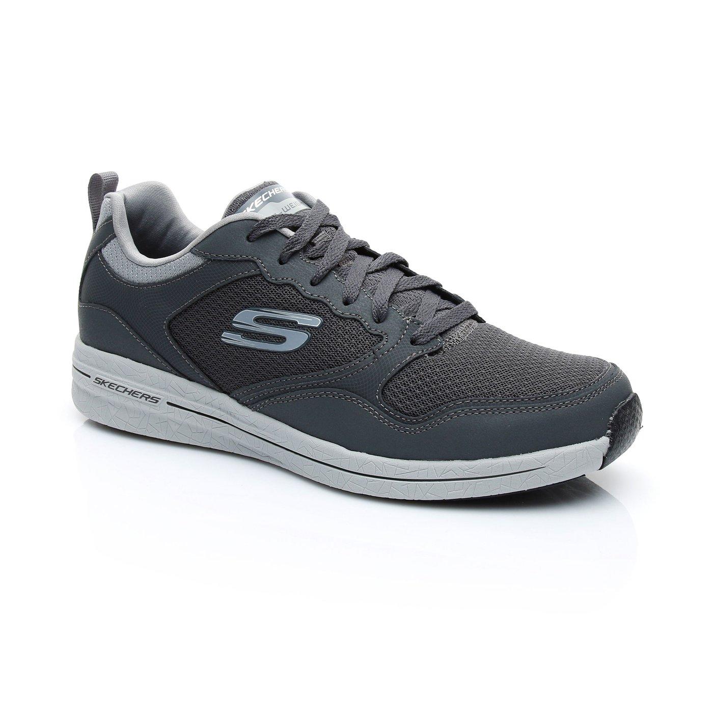 Skechers BurstErkek Gri Spor Ayakkabı
