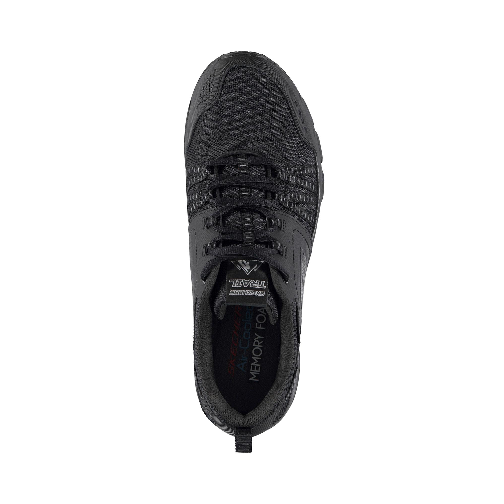 Skechers Escape Plan Erkek Siyah Spor Ayakkabı