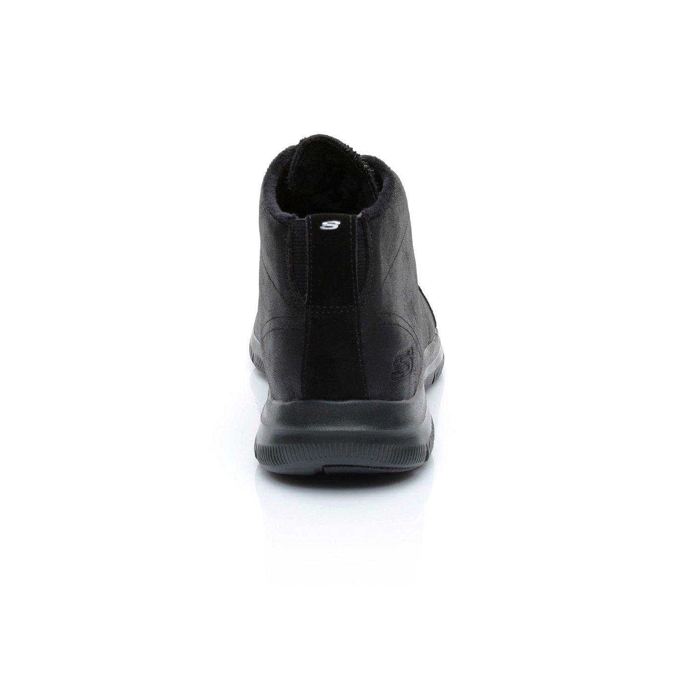 Skechers Flex Appeal Kadın Siyah Bot