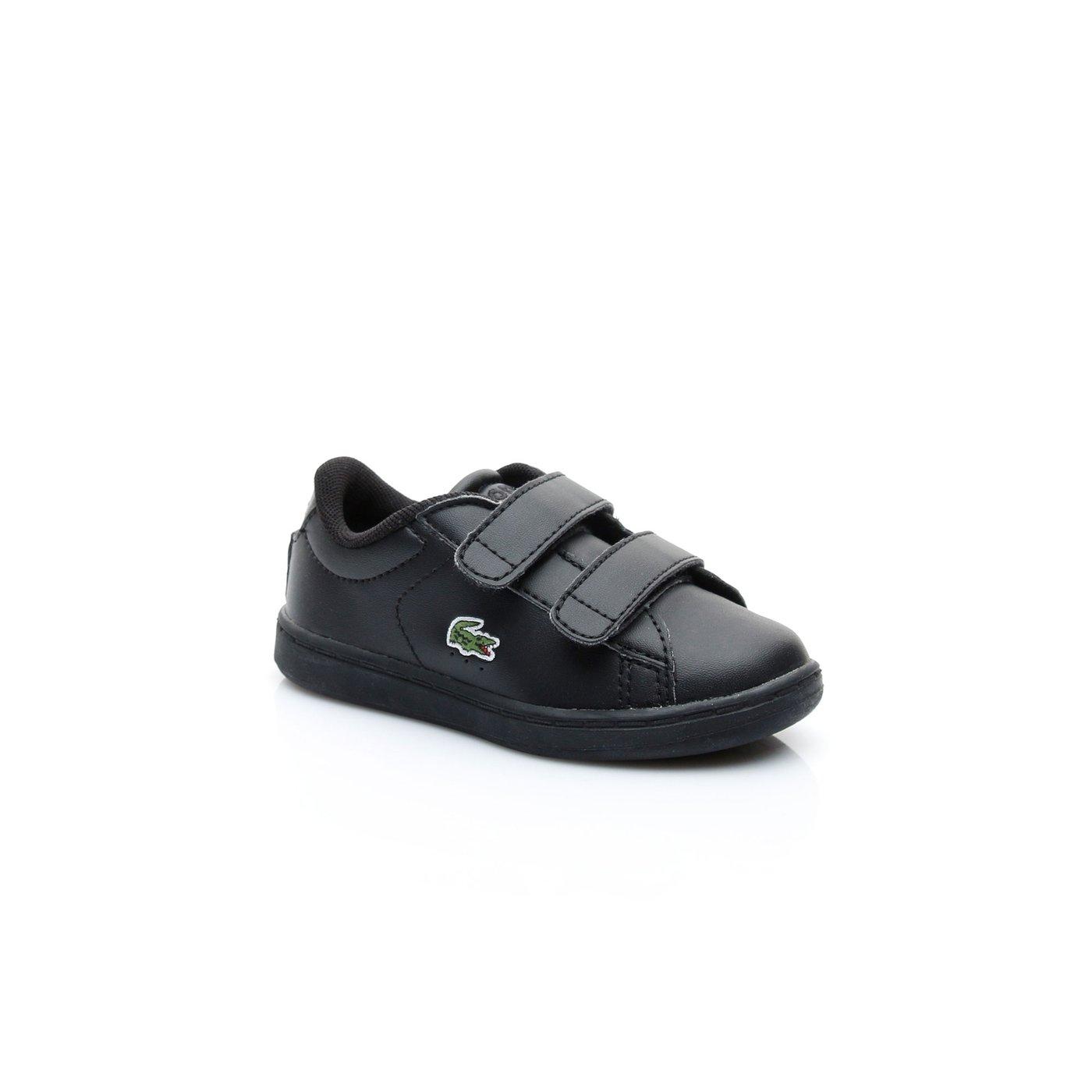 Lacoste Carnaby Evo Çocuk Siyah Sneaker