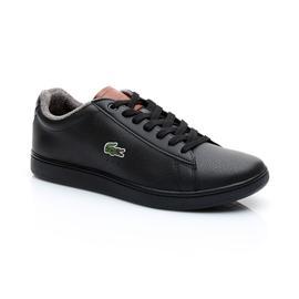 Lacoste Carnaby Evo 318 2 Erkek Siyah Sneaker