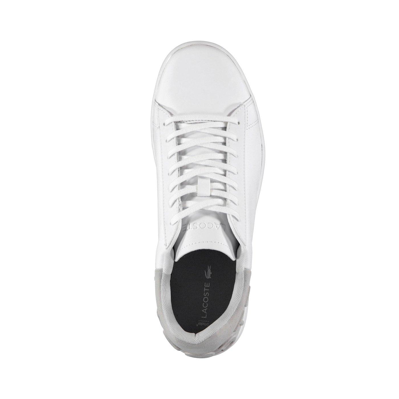 Lacoste Erkek Carnaby Evo 318 6 Beyaz/Gri Sneaker