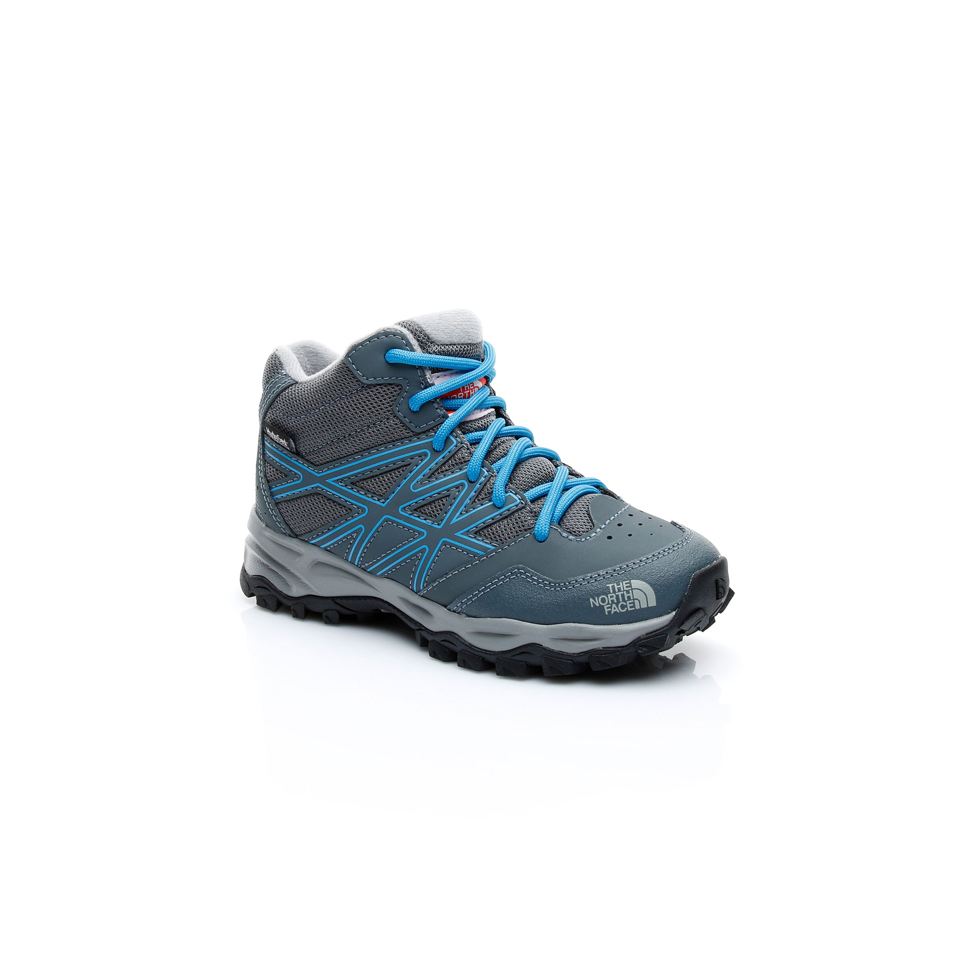The North Face JR HH Hiker Mid WP Unisex Çocuk Gri Ayakkabı