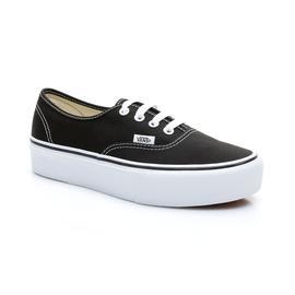 Vans UA Authentic Platform 2.0 Kadın Siyah Sneaker