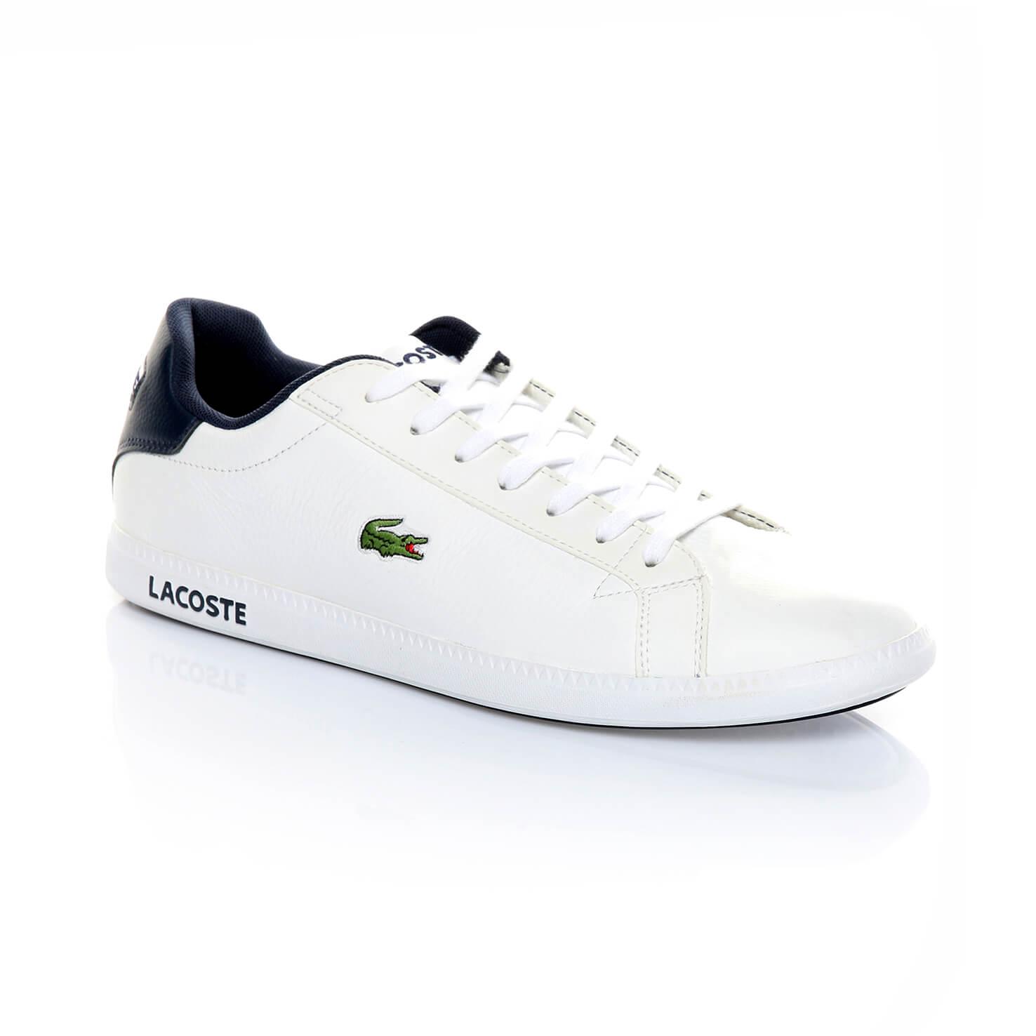 Lacoste Graduate Lcr3 Erkek Beyaz Sneaker