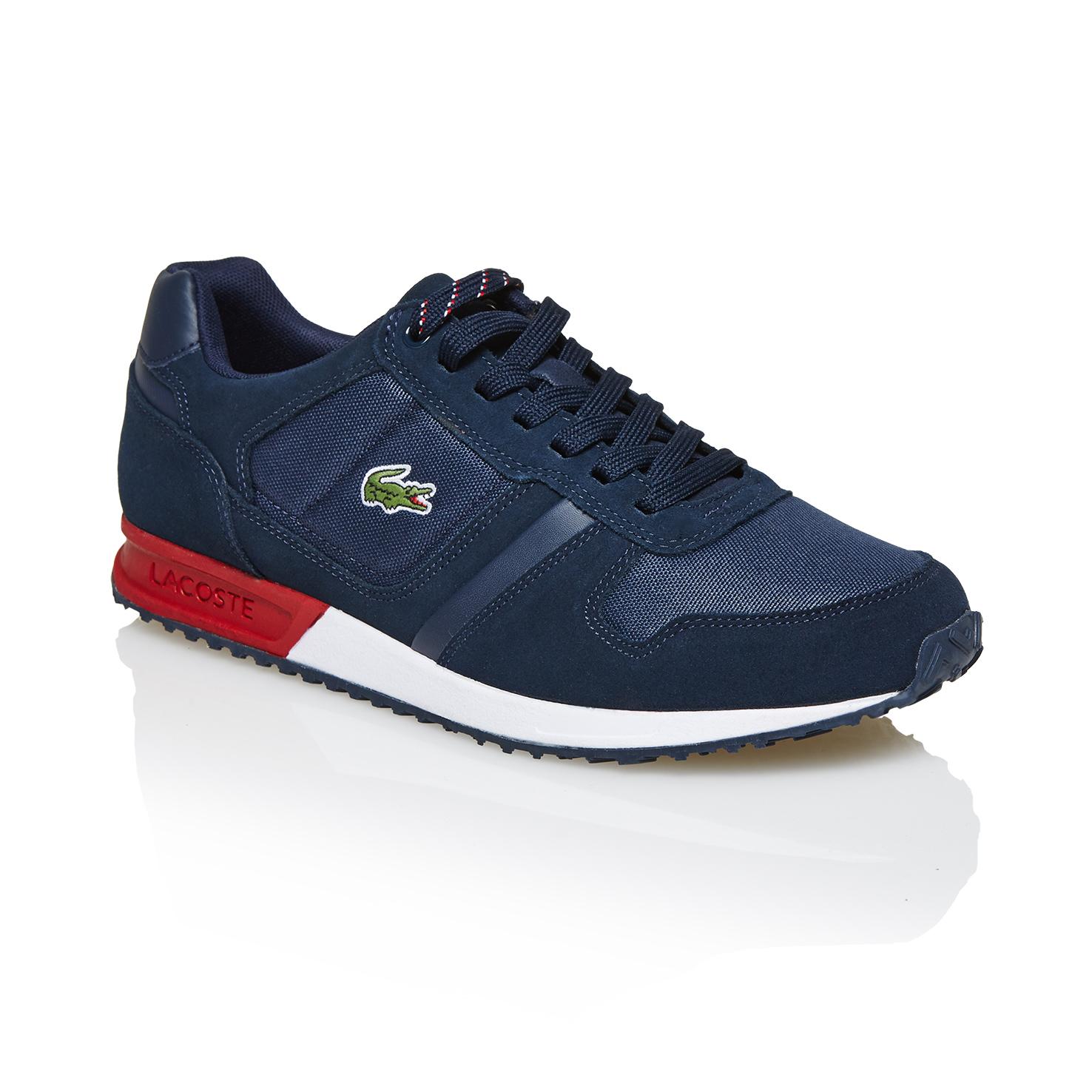 6ee8b7d1e1 Lacoste Vauban Pag Erkek Lacivert Sneaker Erkek Spor Ayakkabı ...