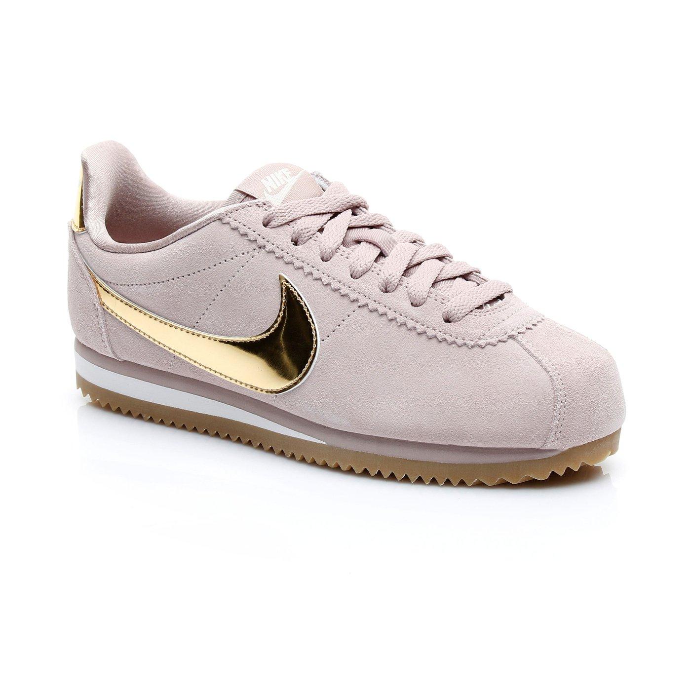 Nike Classic Cortez Kadın Pembe Spor Ayakkabı