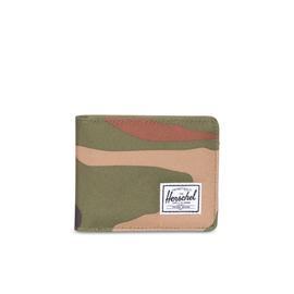 Herschel Roy RFID Camo Yeşil Cüzdan