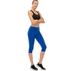 adidas 3/4 Stella McCartney Kadın Mavi Tayt