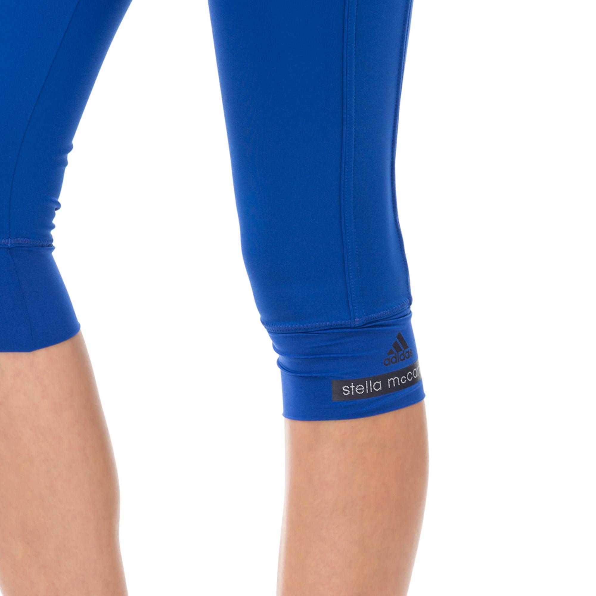 adidas 3 4 Stella McCartney Kadın Lacivert Tayt