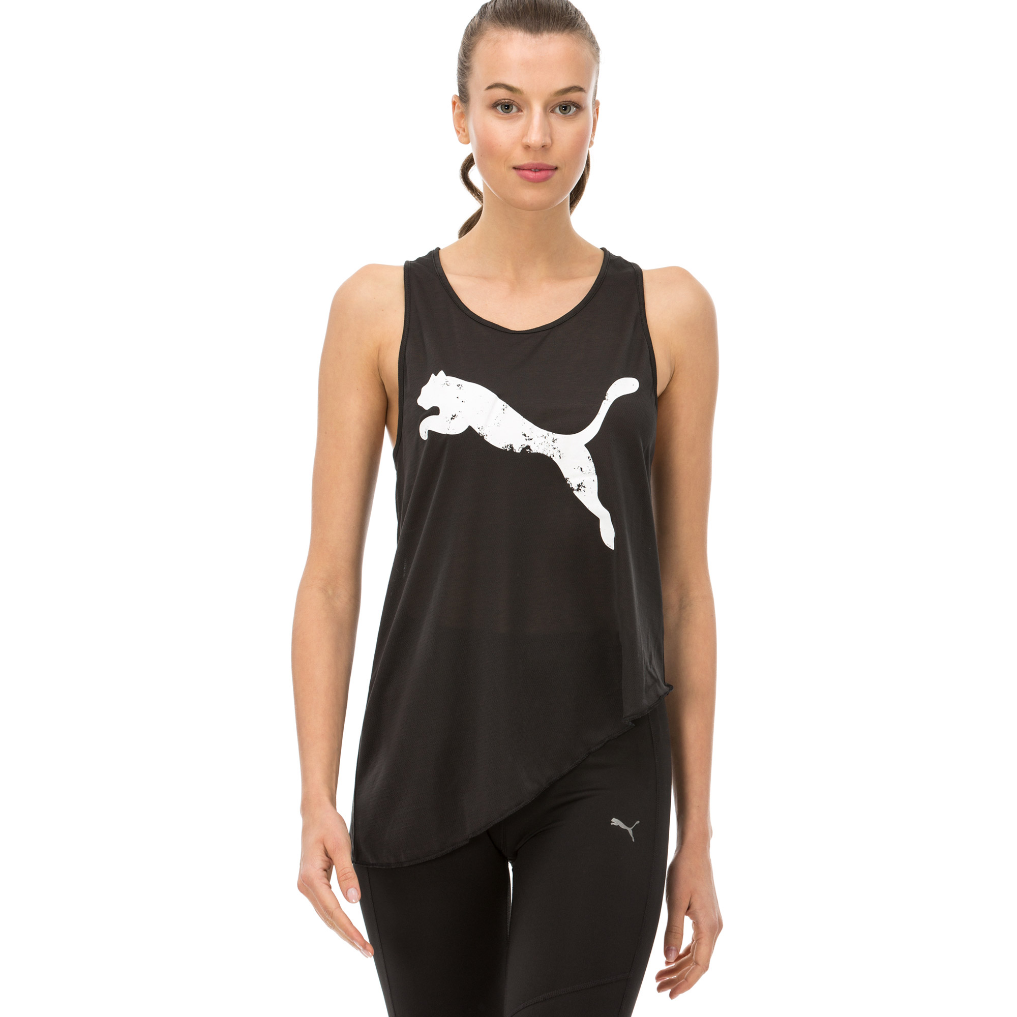 Puma Kadın Siyah T-shirt