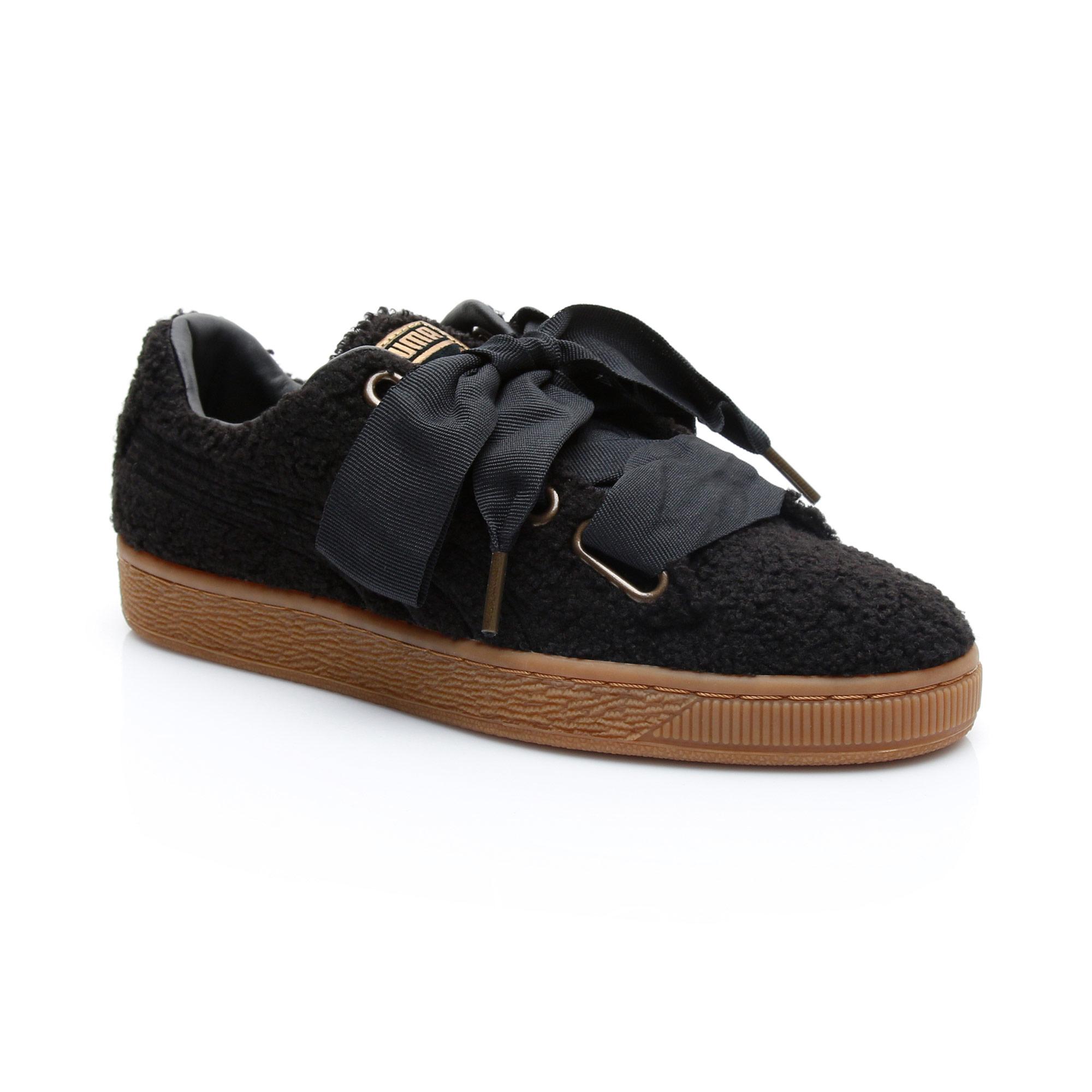 Puma Basket Kadın Siyah Ayakkabı