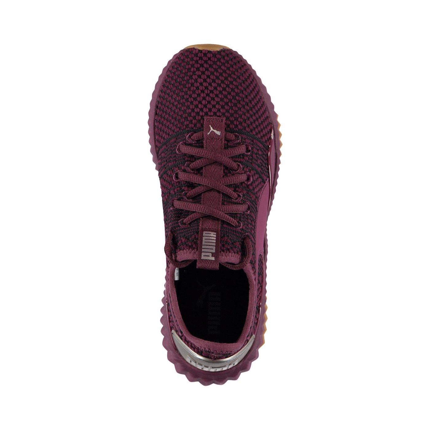Puma Defy Luxe Kadın Bordo Ayakkabı