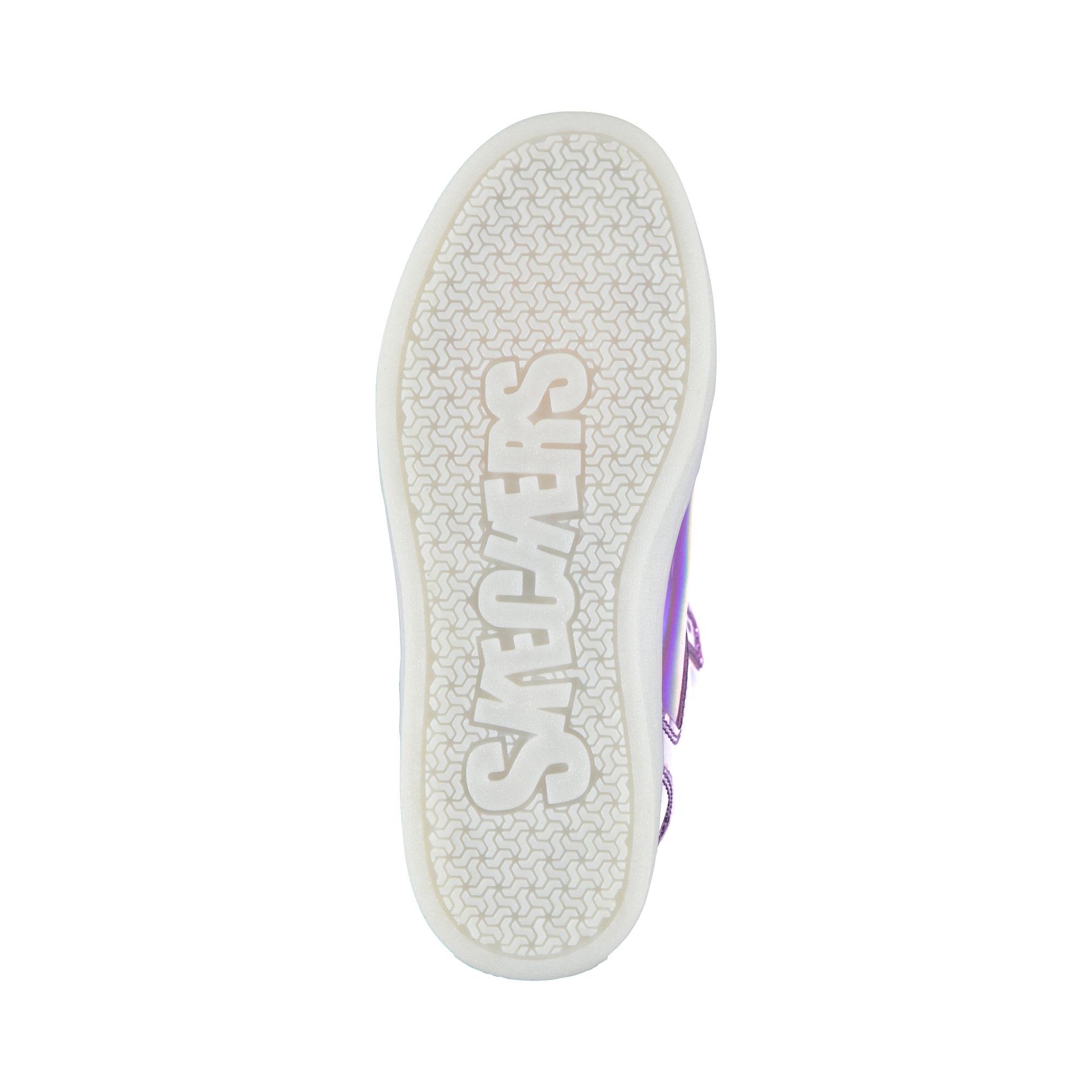 Skechers Energy Lights Kız Çocuk Mor Işıklı Ayakkabı