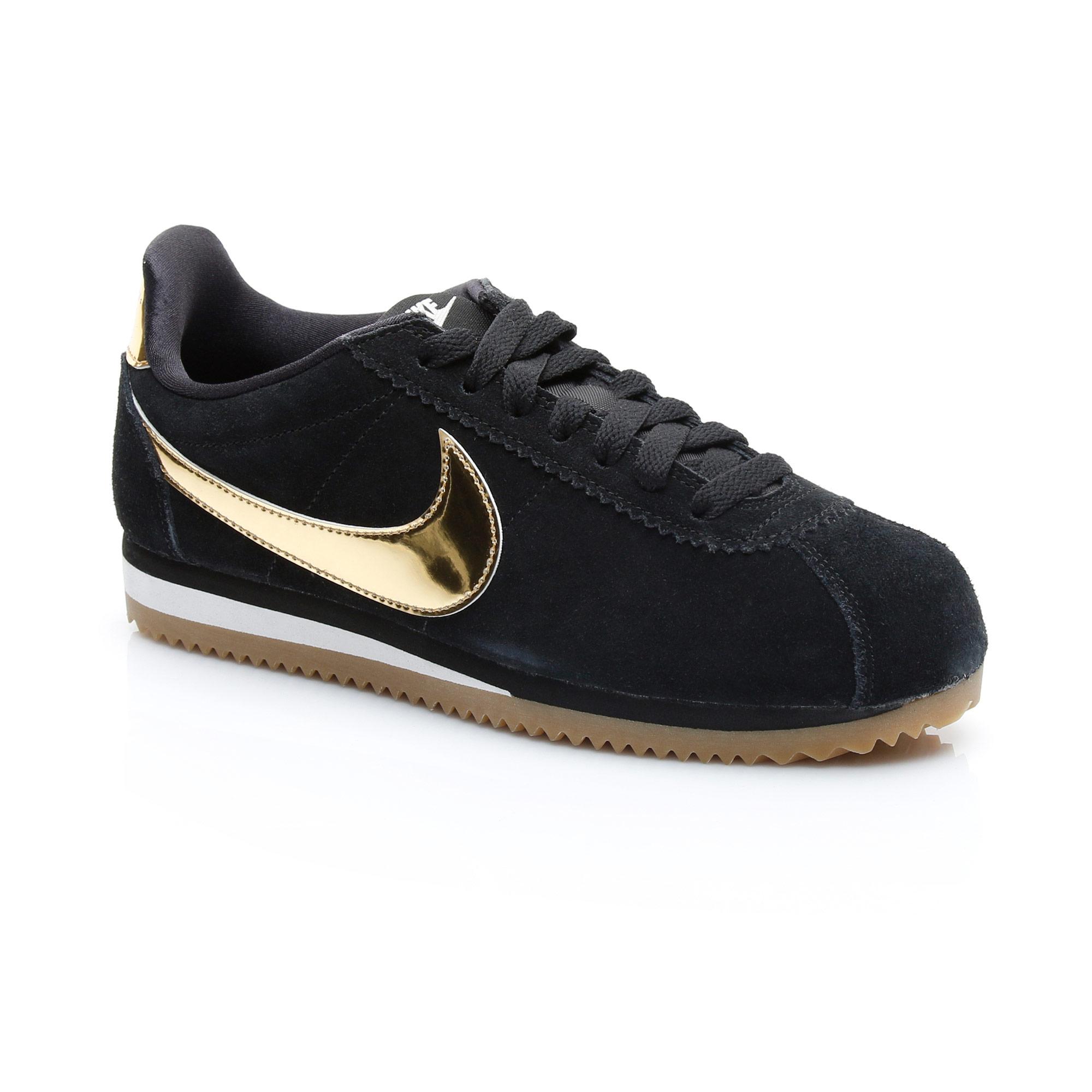 Nike Classic Cortez Kadın Siyah Spor Ayakkabı
