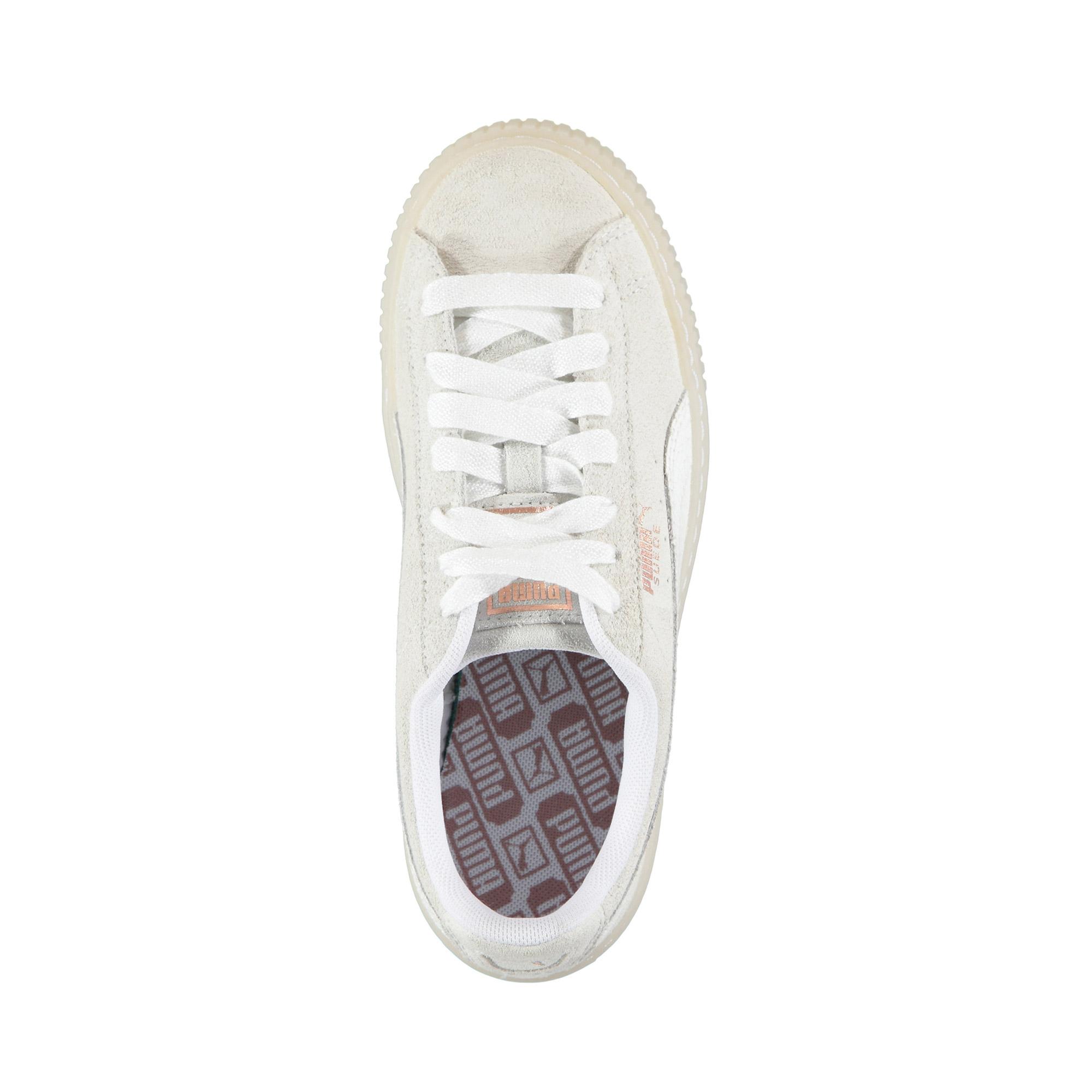 Puma Suede Kadın Beyaz Ayakkabı