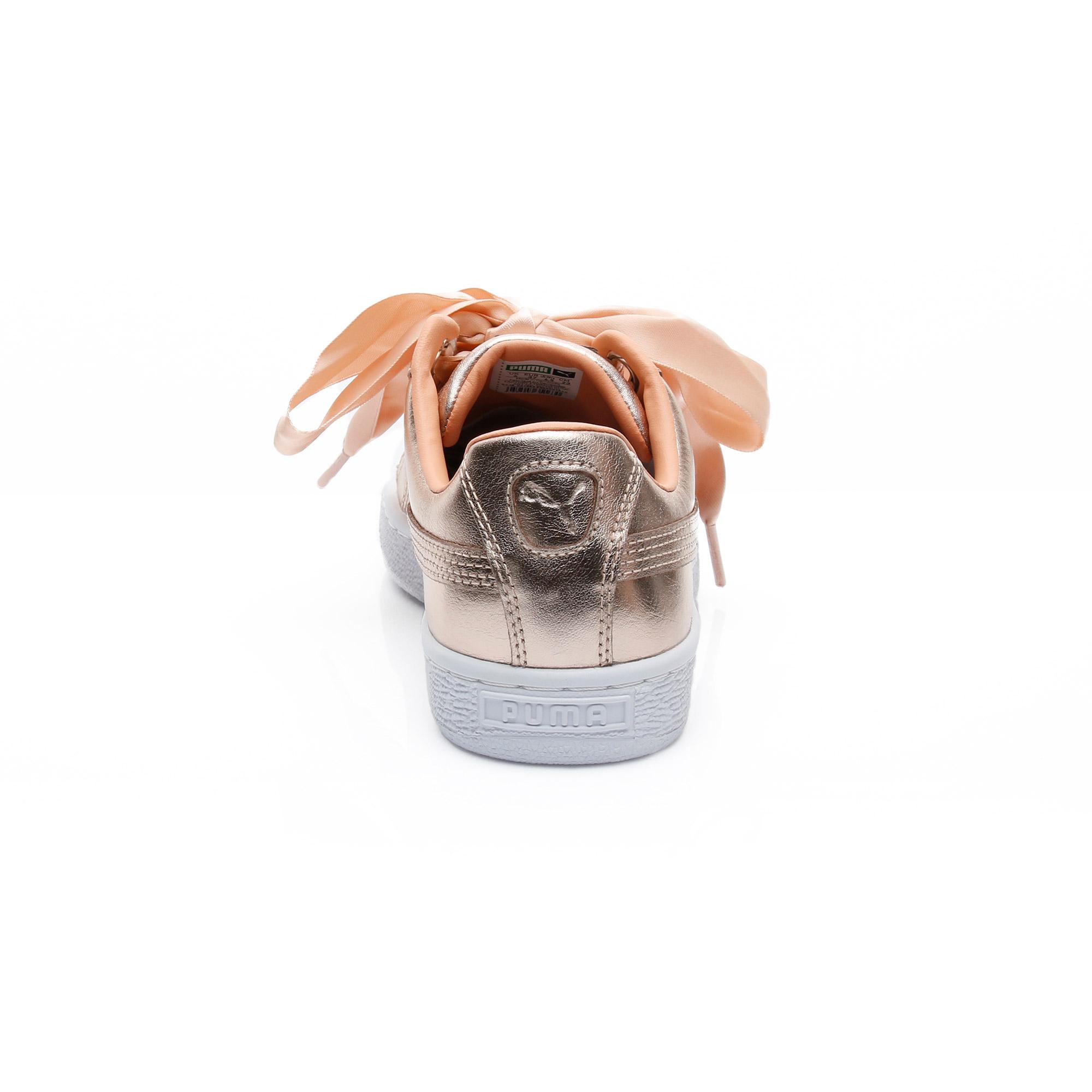 Puma Basket Kadın Altın Spor Ayakkabı