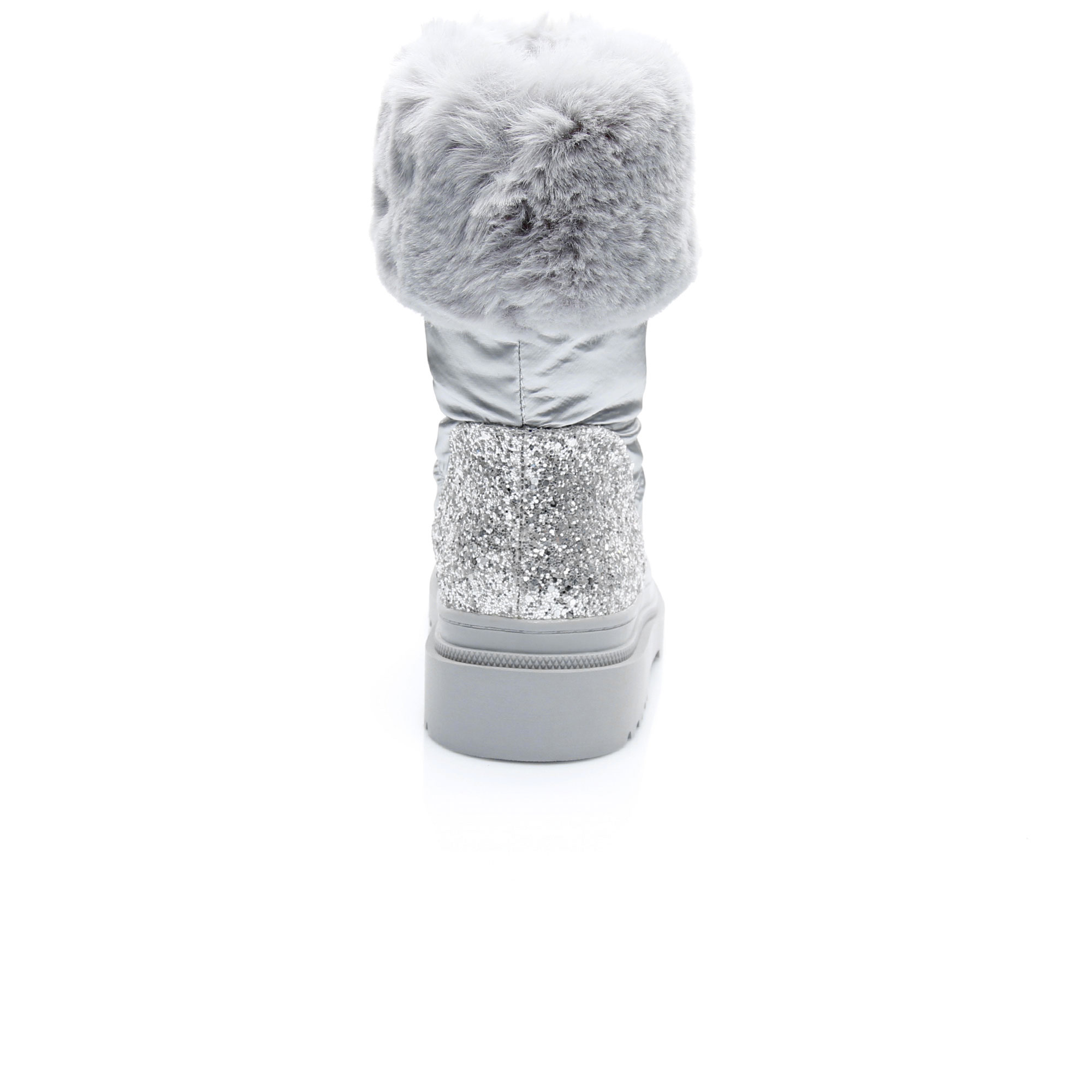 Guess Veffie Stivaletto Kadın Gümüş Bot