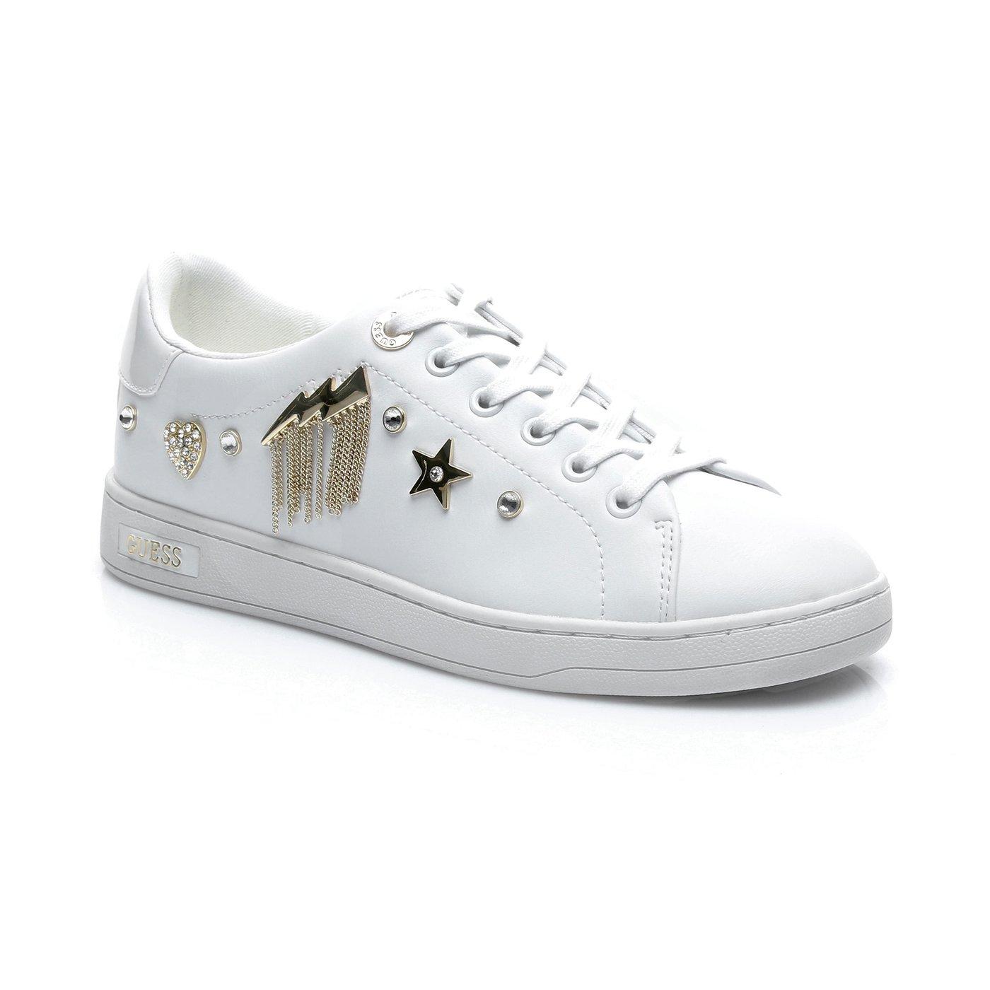 Guess Cıght Actıve Lady Kadın Beyaz Sneaker