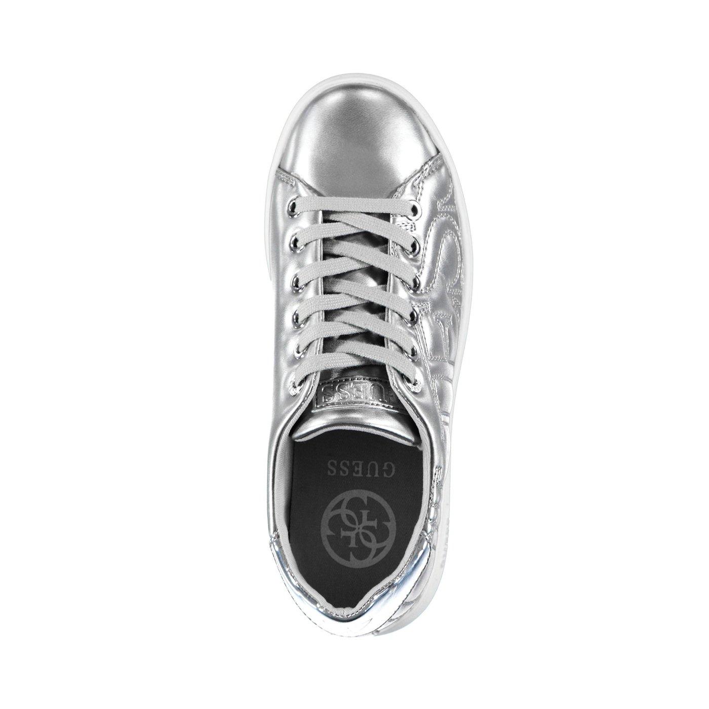 Guess Cestın Actıve Lady Kadın Gümüş Sneaker