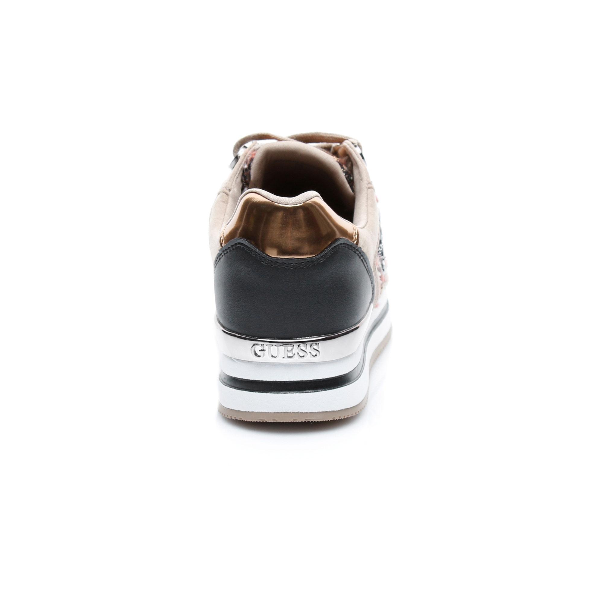 Guess Dameon4 Kadın Bej Sneaker