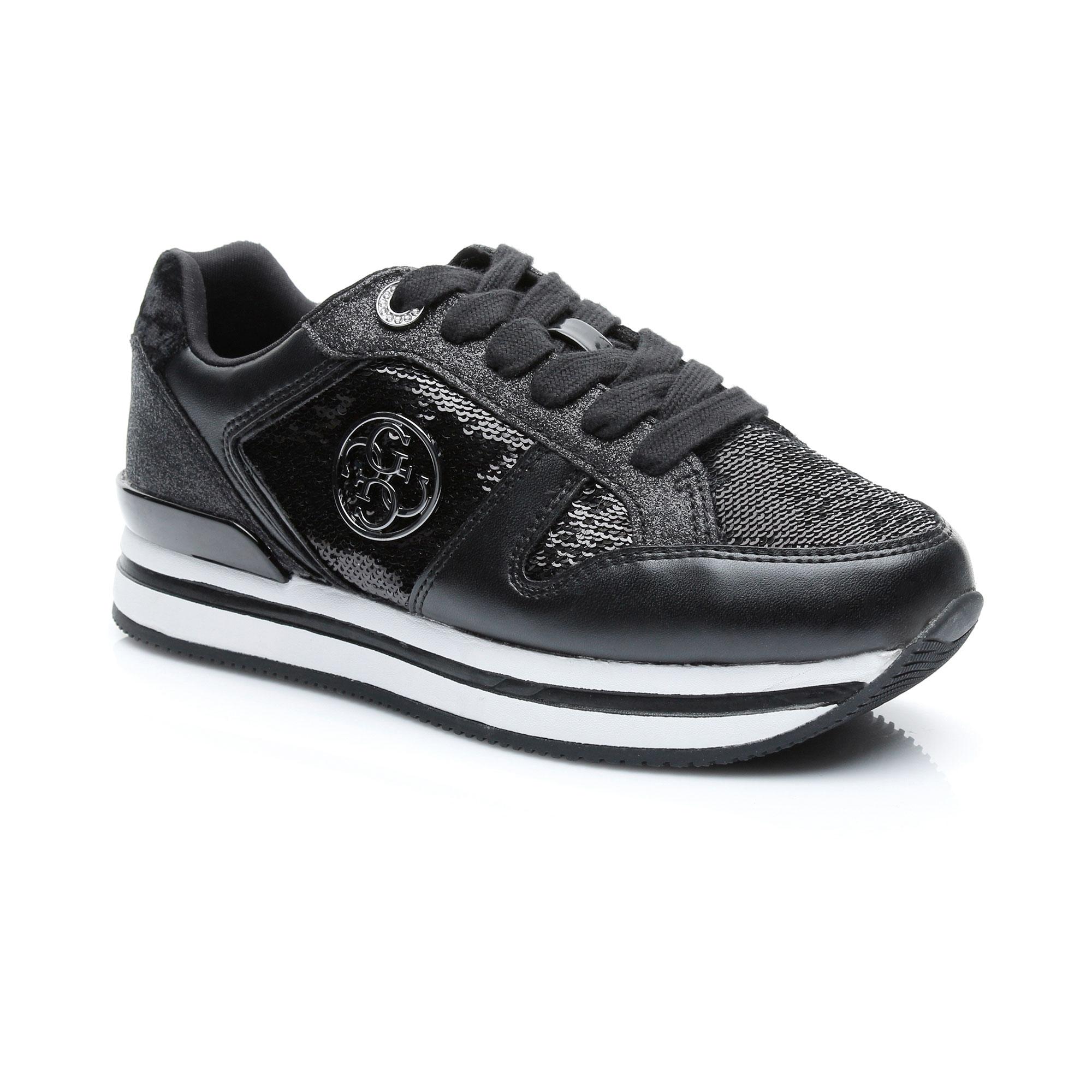 Guess Dameon5 Kadın Siyah Sneaker