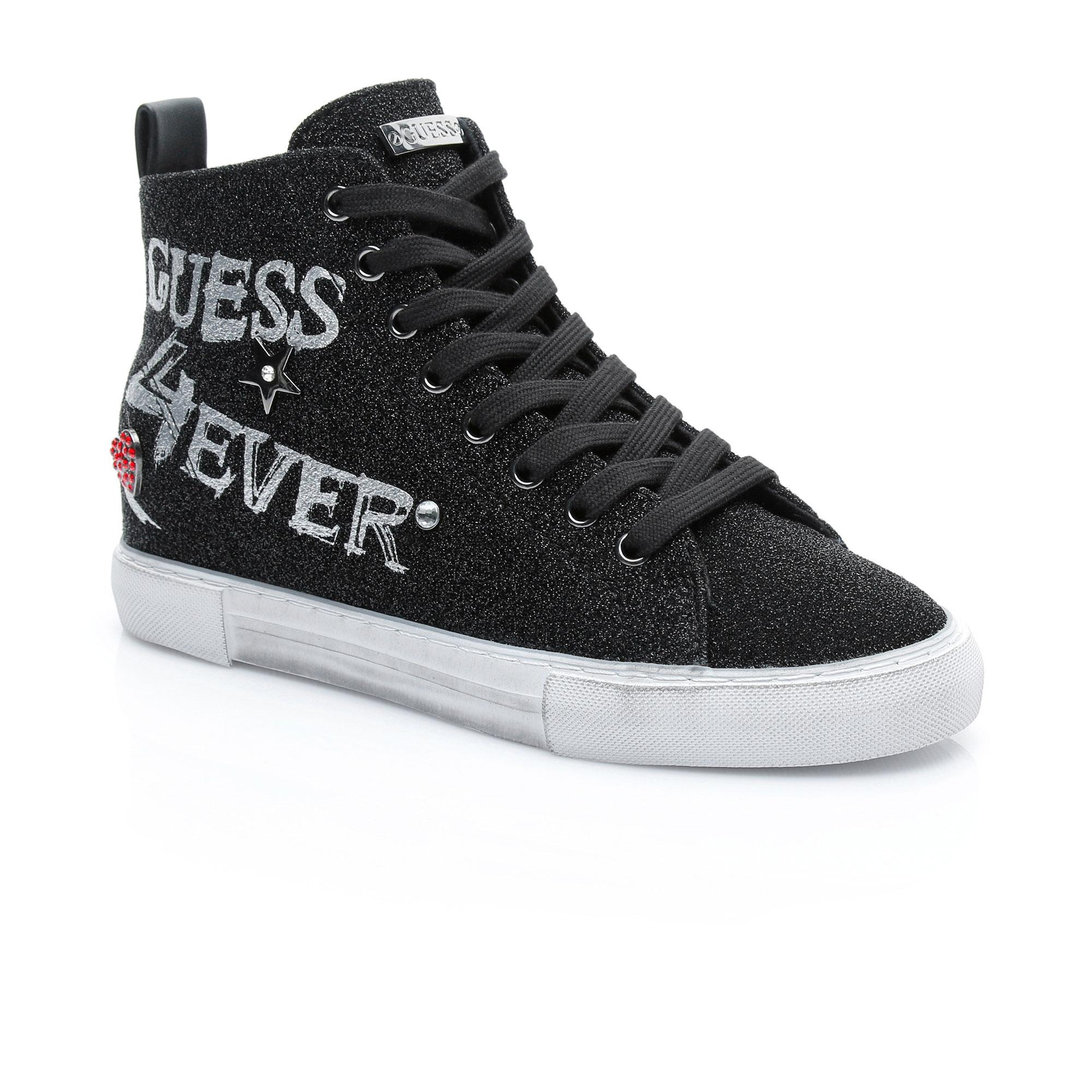 Guess Pyke Stıvaletto Kadın Siyah Sneaker
