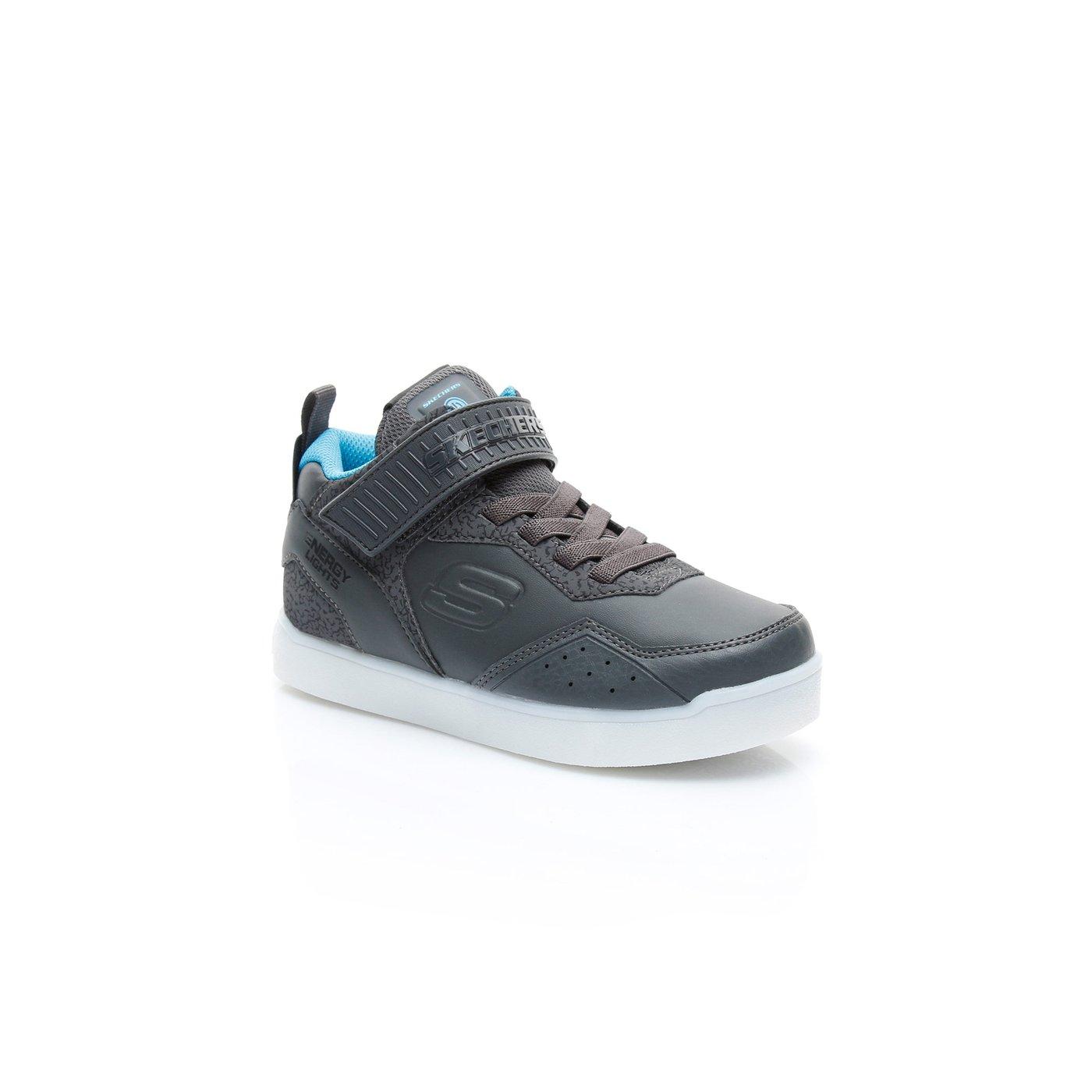 Skechers Energy Lights Çocuk Siyah Sneaker