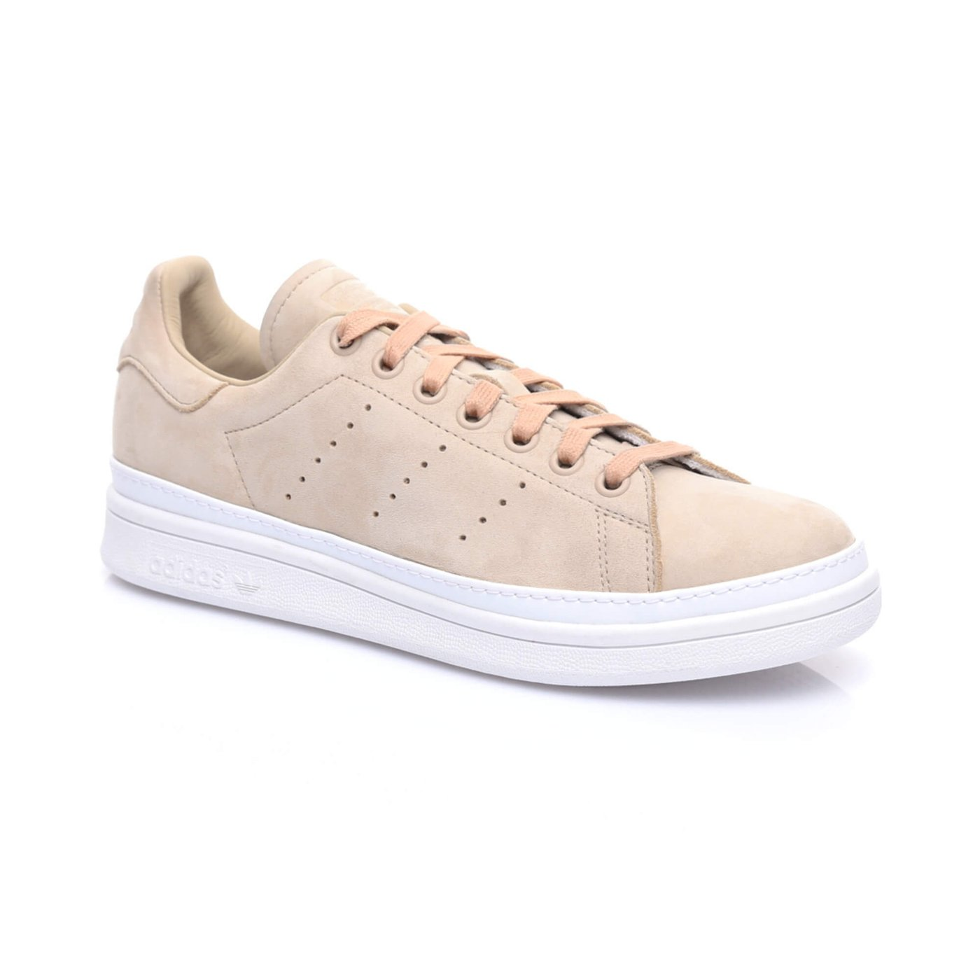 adidas Stan Smith New Bold Kadın Bej Sneaker