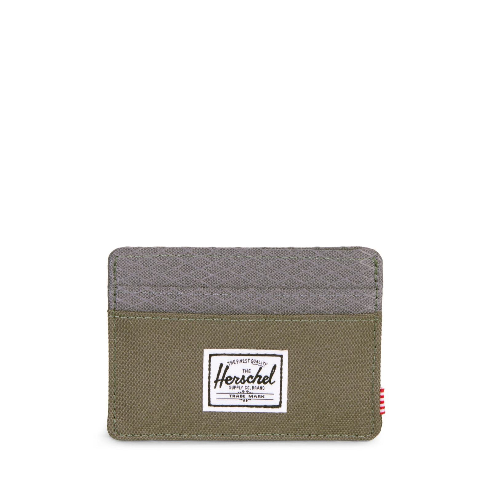 Herschel Charlie Unisex Haki Kartlık