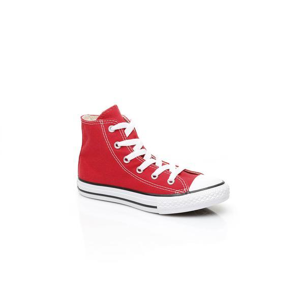 Converse Chuck Taylor All Star High Kırmızı Çocuk Sneaker Ayakkabı