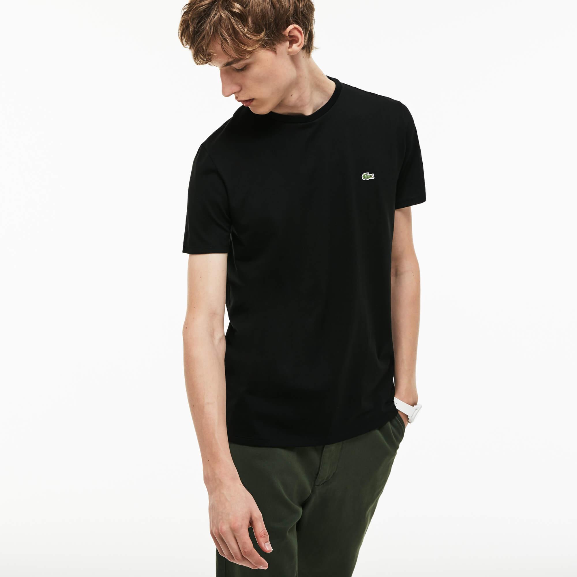 Lacoste Siyah Tshirt