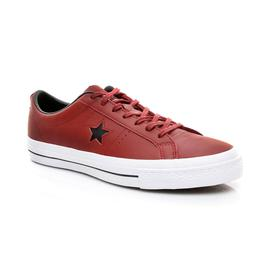 Converse One Star Erkek Bordo Sneaker