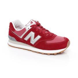 New Balance 574 Erkek Kırmızı Spor Ayakkabı