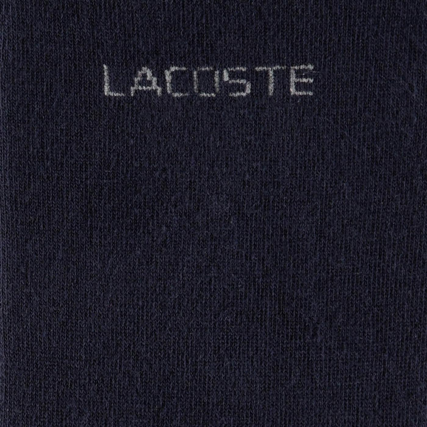 Lacoste Unisex Babet Lacivert Çorap