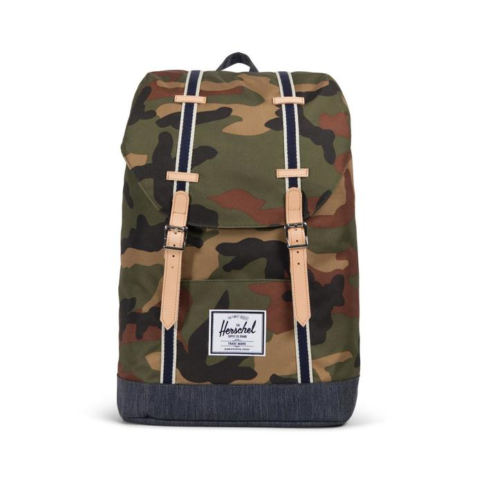 Herschel Retreat Woodland Unisex Camo Sırt Çantası