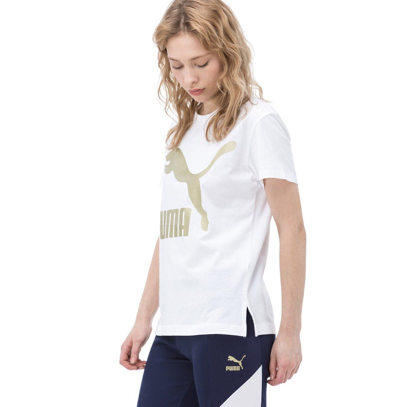 Puma Kadın Beyaz Tshirt