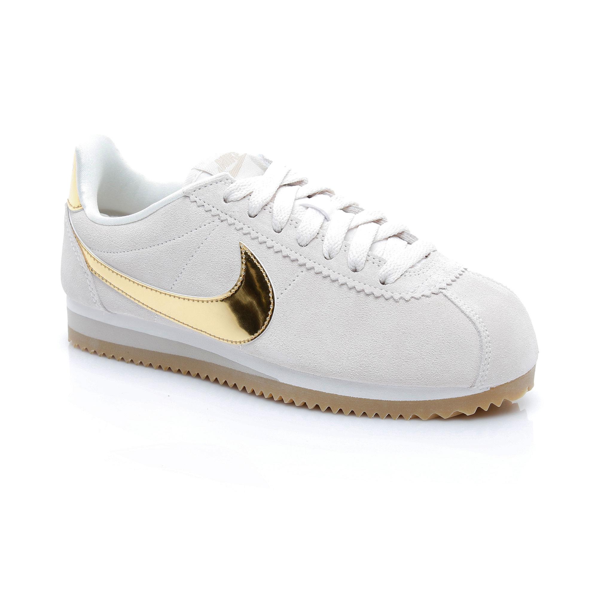 Nike Classic Cortez Kadın Bej Ayakkabı